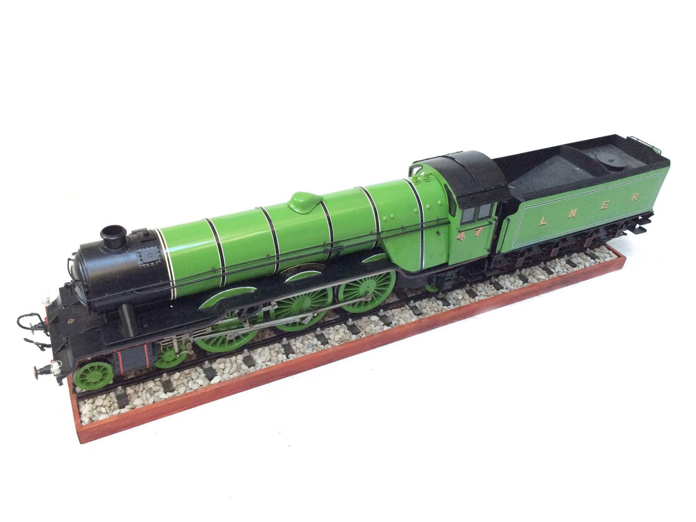test 3 gauge LNER Gresley A3 Live Steam locomotive for sale 17