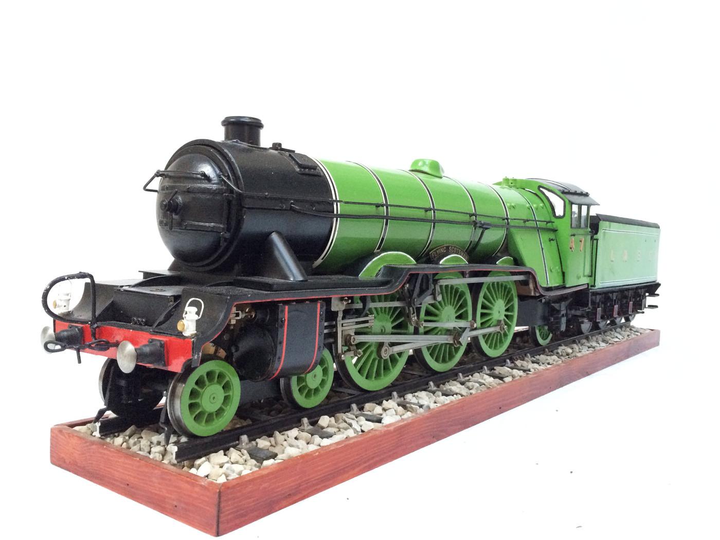test 3 gauge LNER Gresley A3 Live Steam locomotive for sale 21