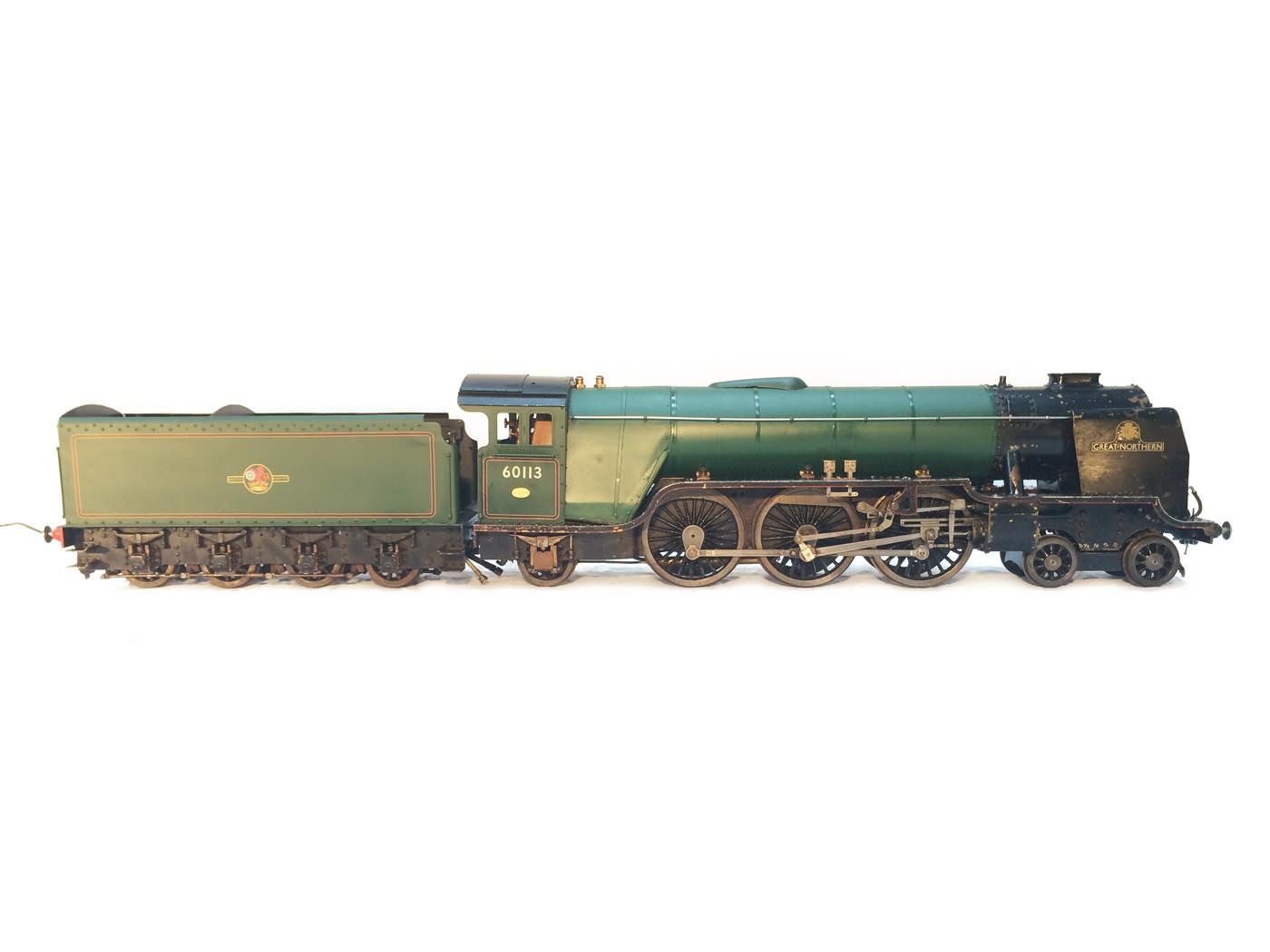 test 3 gauge LNER Thompton A1 Heilan Lassie for sale 01