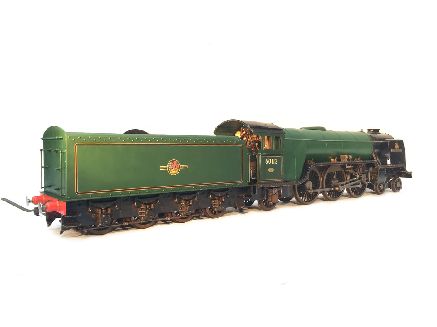 test 3 gauge LNER Thompton A1 Heilan Lassie for sale 02