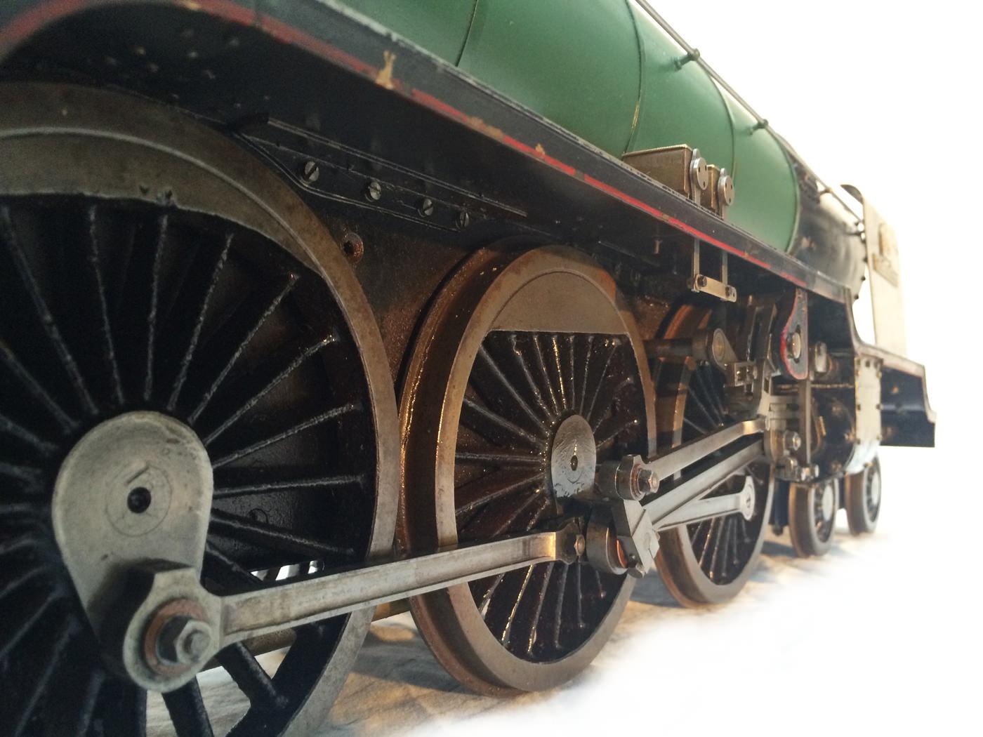 test 3 gauge LNER Thompton A1 Heilan Lassie for sale 06