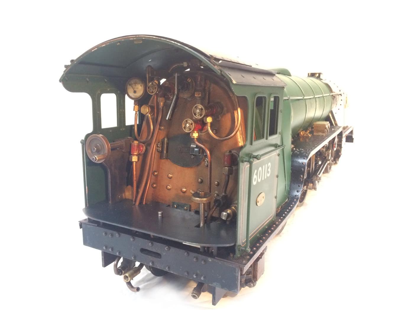 test 3 gauge LNER Thompton A1 Heilan Lassie for sale 09