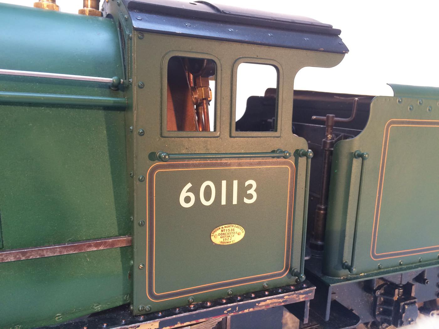 test 3 gauge LNER Thompton A1 Heilan Lassie for sale 18