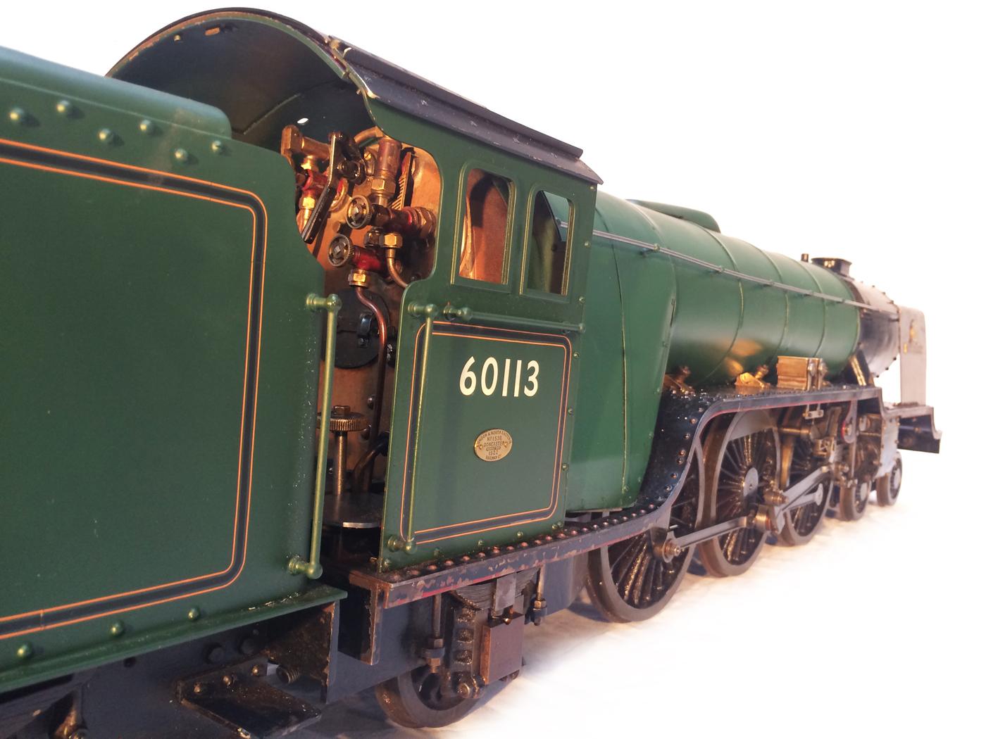 test 3 gauge LNER Thompton A1 Heilan Lassie for sale 25