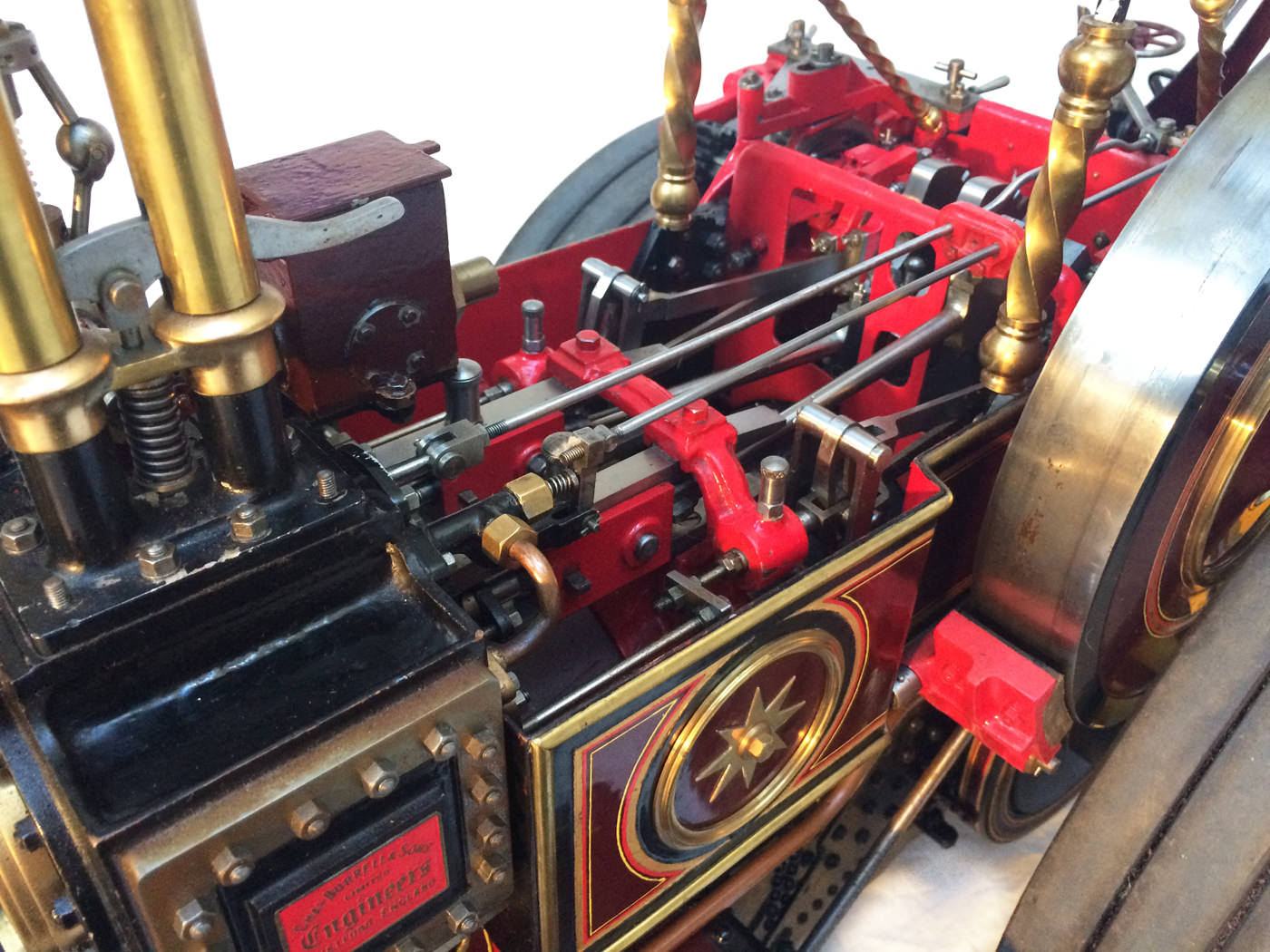 test 2 scale Burrell Scenic Showmans Engine Thetford Town Live Steam model for sale 01