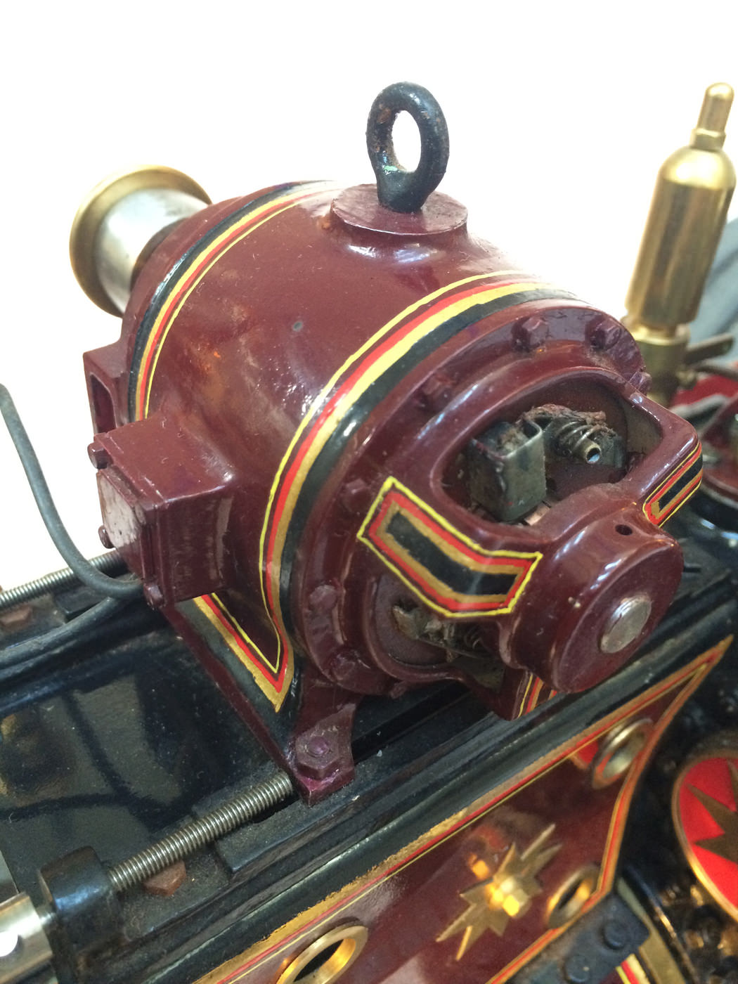 test 2 scale Burrell Scenic Showmans Engine Thetford Town Live Steam model for sale 06