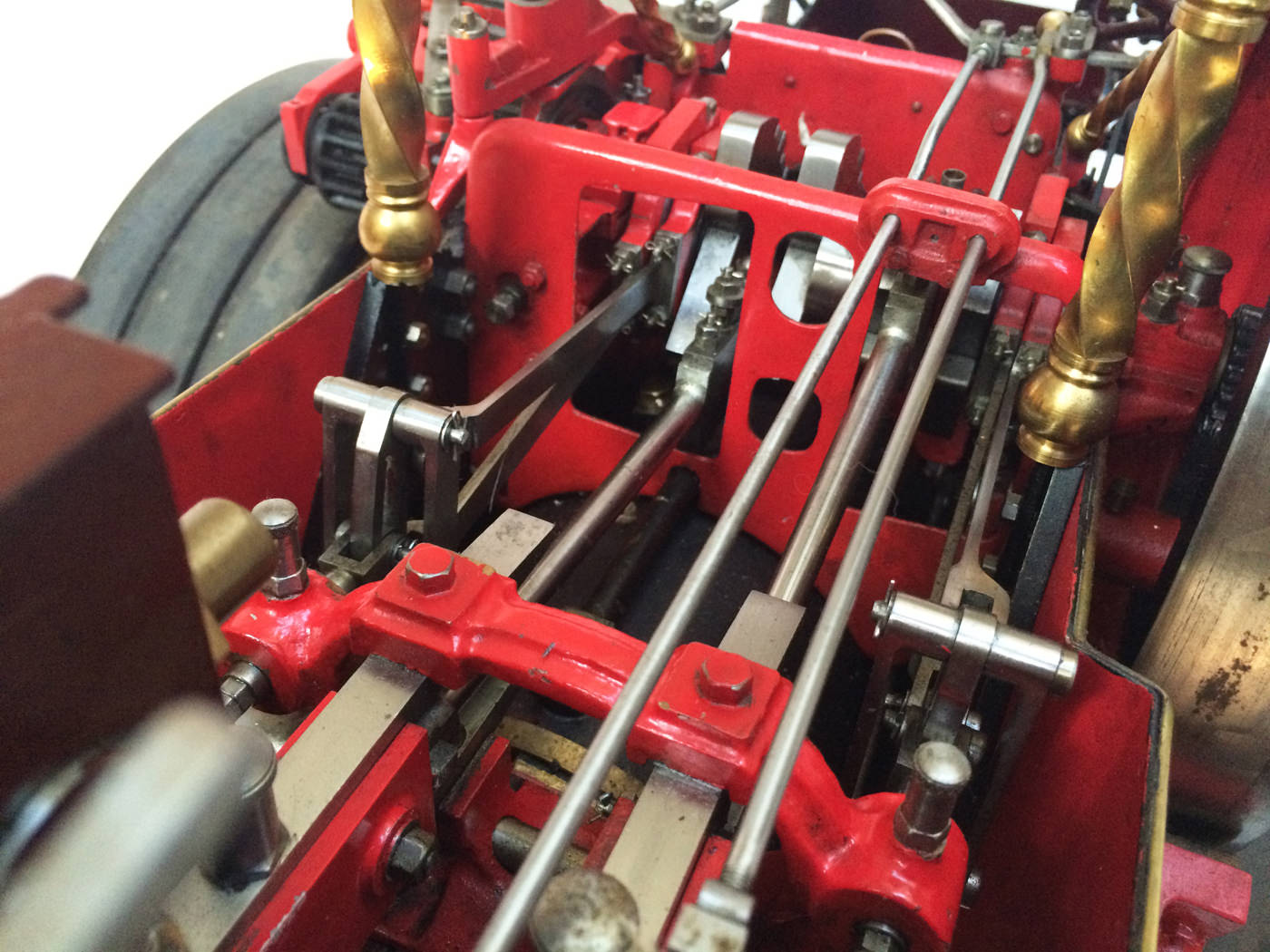 test 2 scale Burrell Scenic Showmans Engine Thetford Town Live Steam model for sale 08