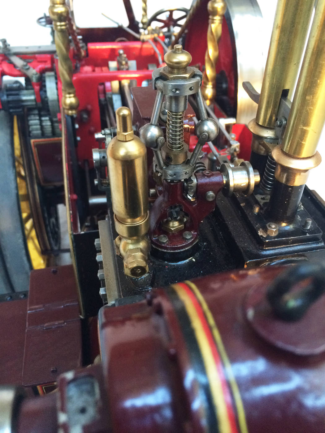 test 2 scale Burrell Scenic Showmans Engine Thetford Town Live Steam model for sale 10