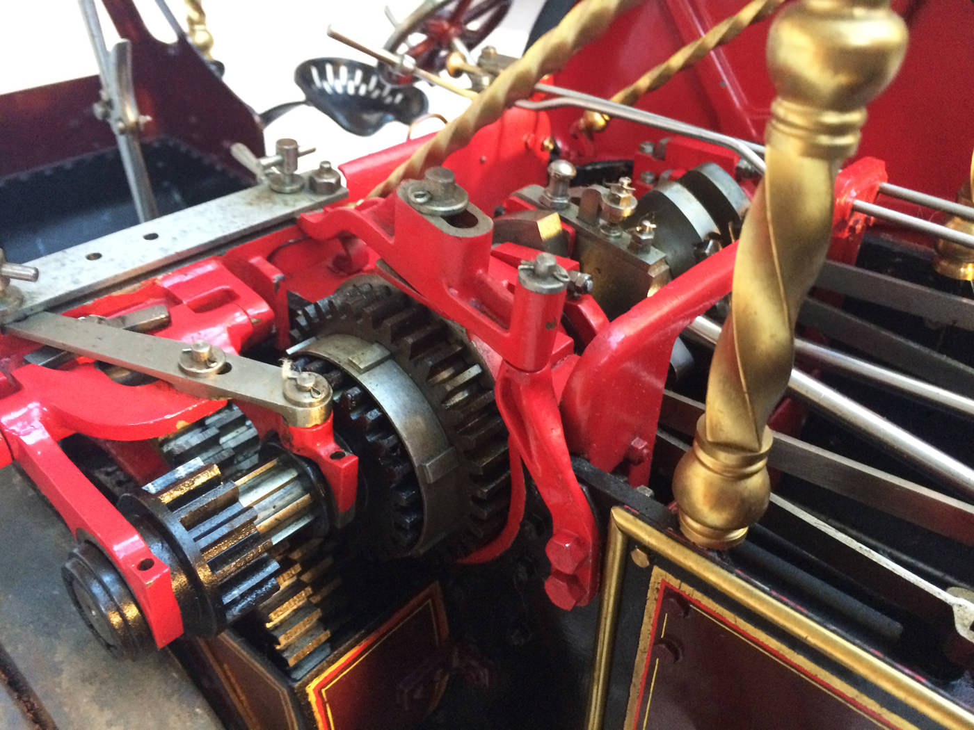 test 2 scale Burrell Scenic Showmans Engine Thetford Town Live Steam model for sale 11