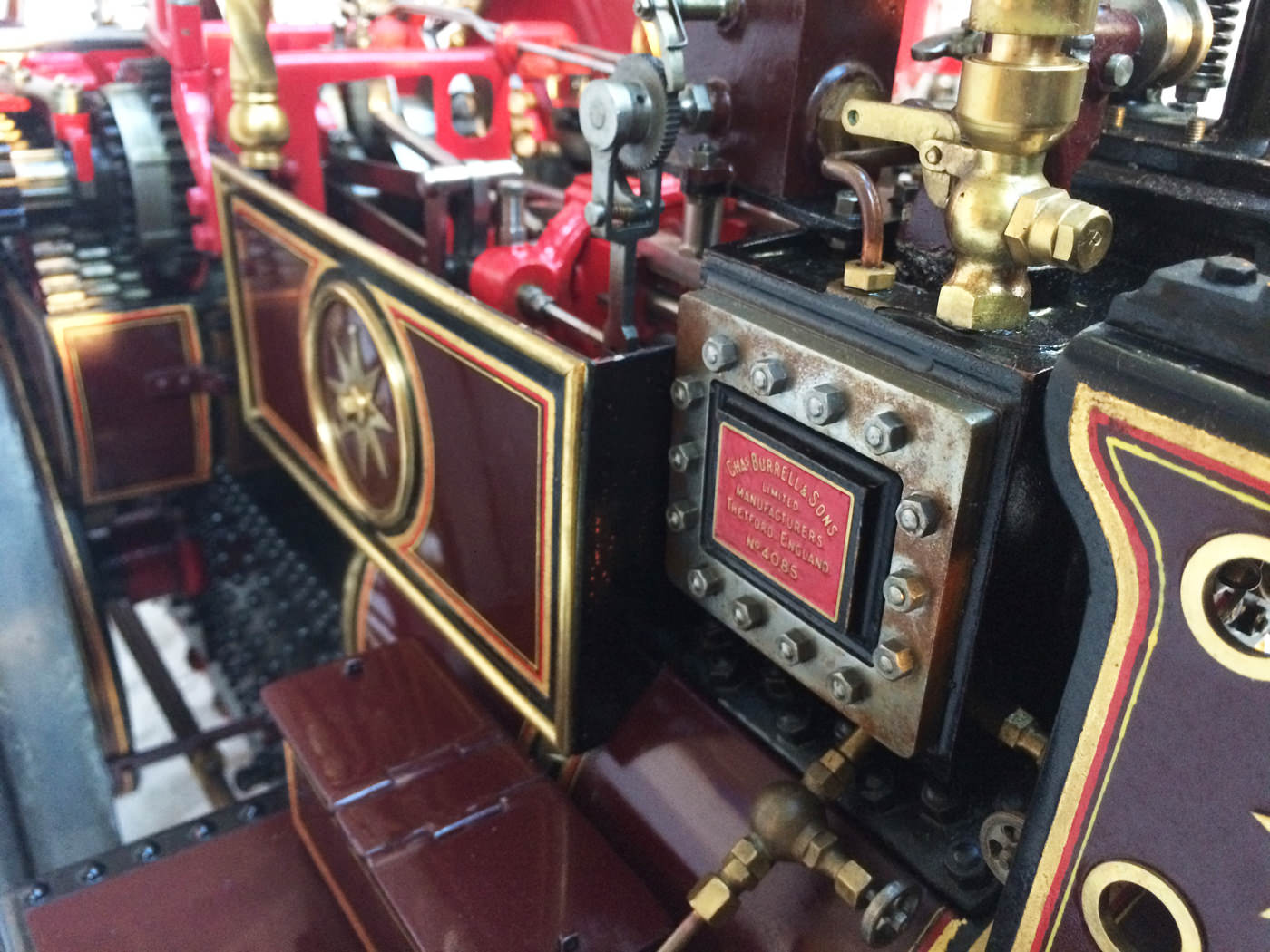 test 2 scale Burrell Scenic Showmans Engine Thetford Town Live Steam model for sale 13