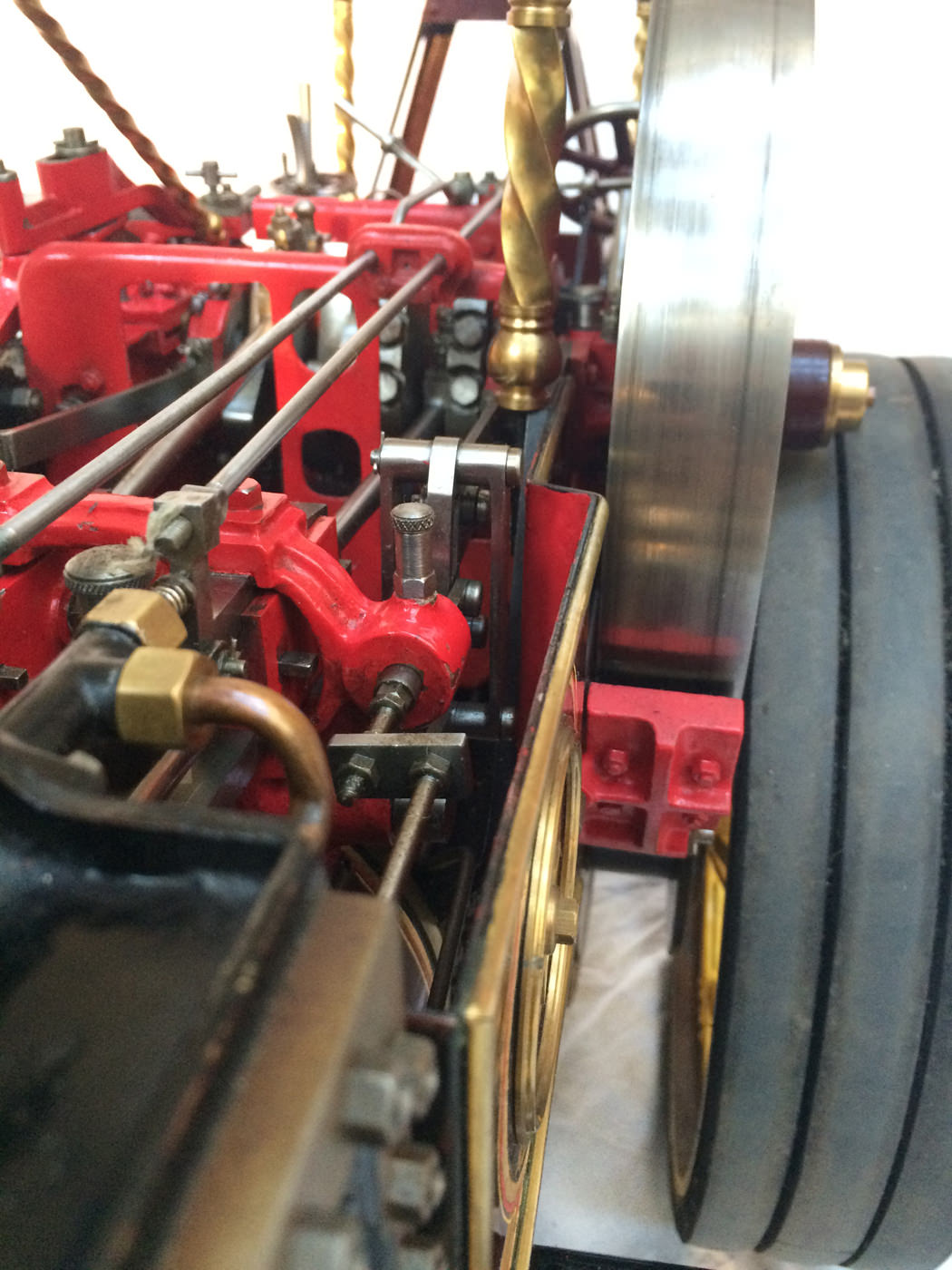 test 2 scale Burrell Scenic Showmans Engine Thetford Town Live Steam model for sale 14