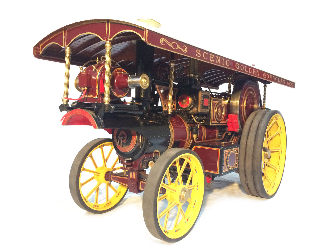 test 2 scale Burrell Scenic Showmans Engine Thetford Town Live Steam model for sale 19