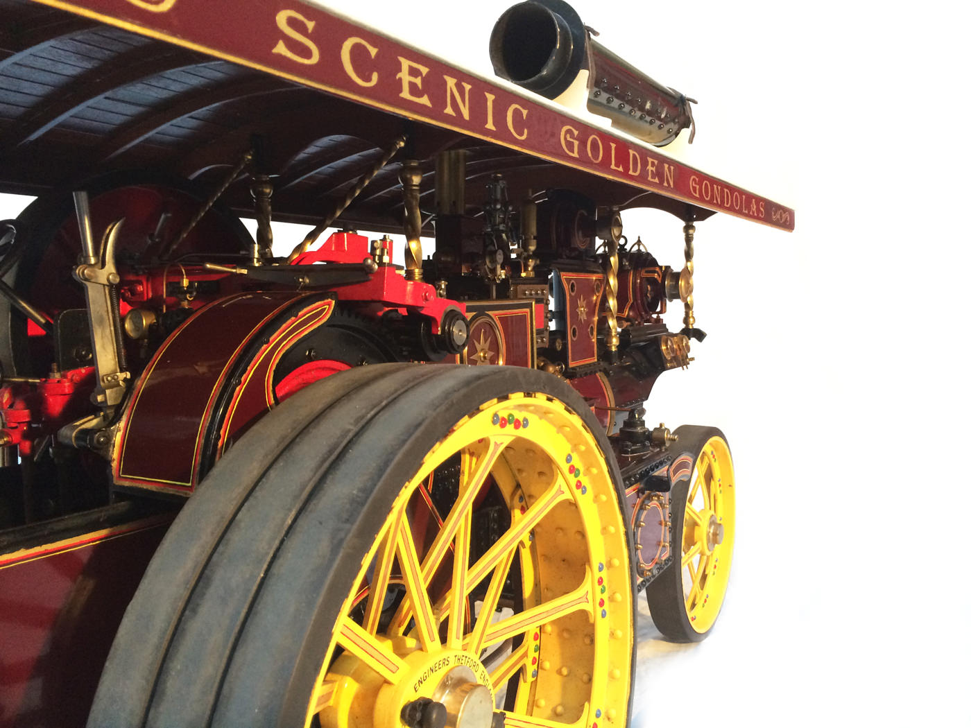 test 2 scale Burrell Scenic Showmans Engine Thetford Town Live Steam model for sale 27