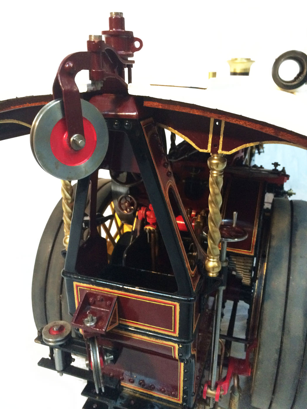 test 2 scale Burrell Scenic Showmans Engine Thetford Town Live Steam model for sale 28