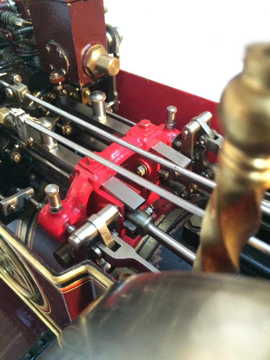 test 2 scale Burrell Scenic Showmans Engine Thetford Town Live Steam model for sale 32