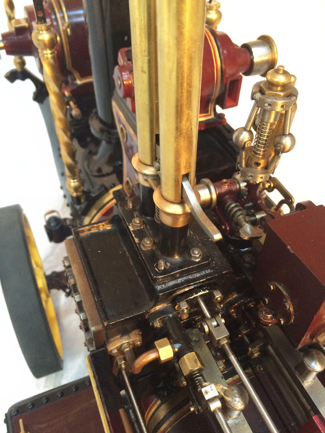 test 2 scale Burrell Scenic Showmans Engine Thetford Town Live Steam model for sale 33