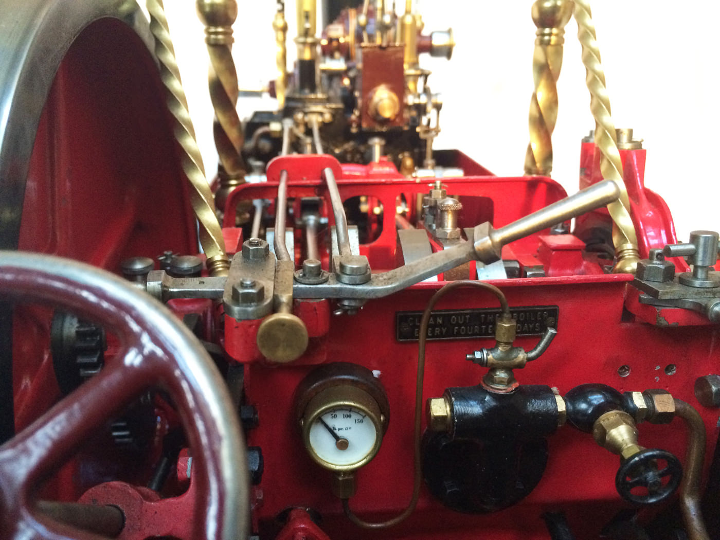 test 2 scale Burrell Scenic Showmans Engine Thetford Town Live Steam model for sale 35