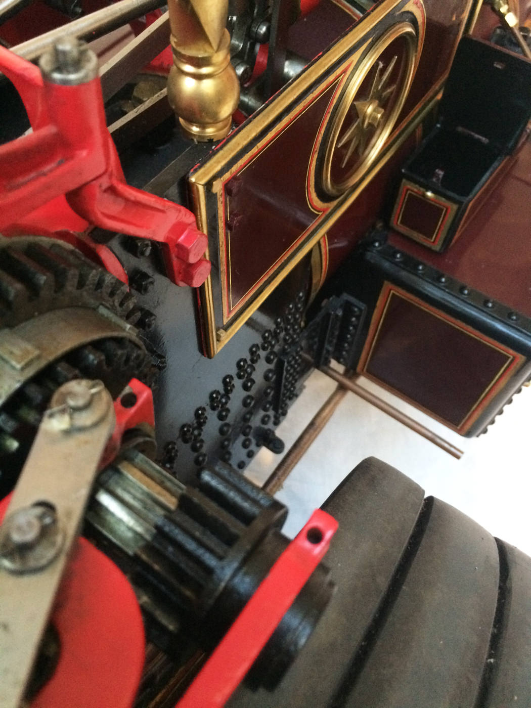 test 2 scale Burrell Scenic Showmans Engine Thetford Town Live Steam model for sale 36