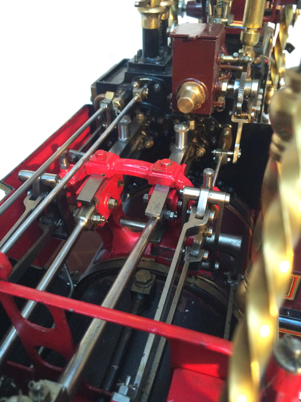test 2 scale Burrell Scenic Showmans Engine Thetford Town Live Steam model for sale 37