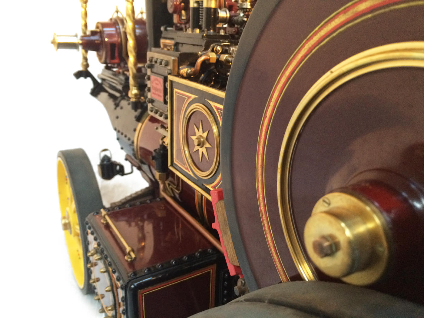 test 2 scale Burrell Scenic Showmans Engine Thetford Town Live Steam model for sale 41
