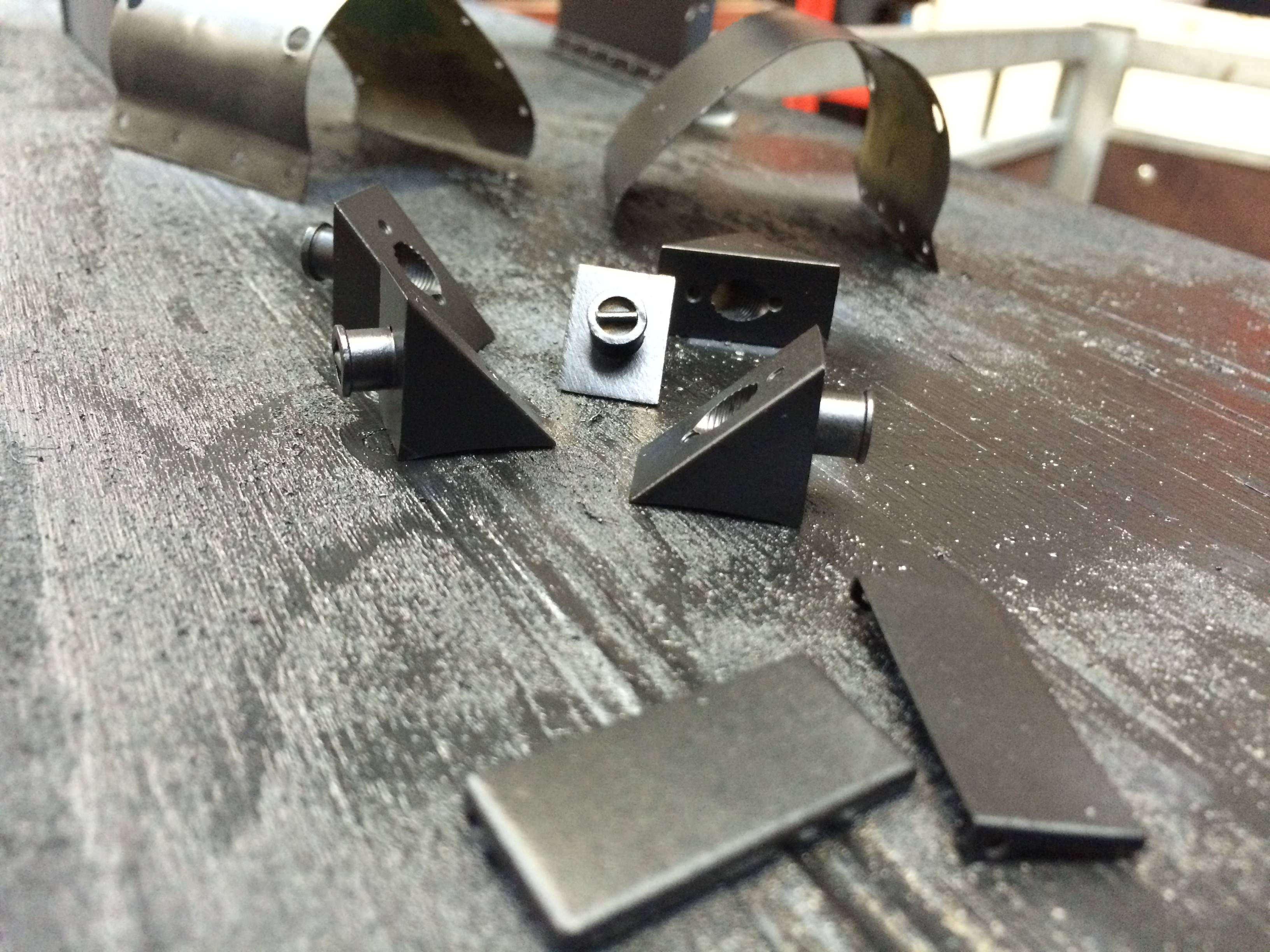 test 3 gauge Thompson A1 Heilan Lassie bits go satin black