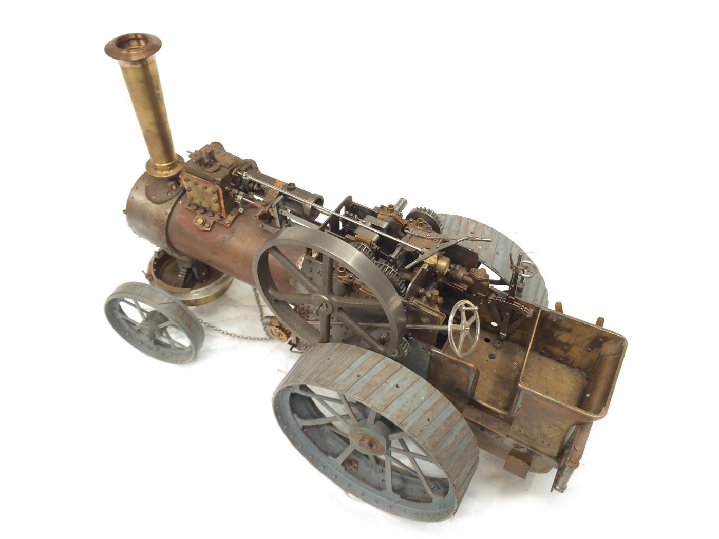 test scale Royal Chester Alchin traction engine live steam model for sale 06