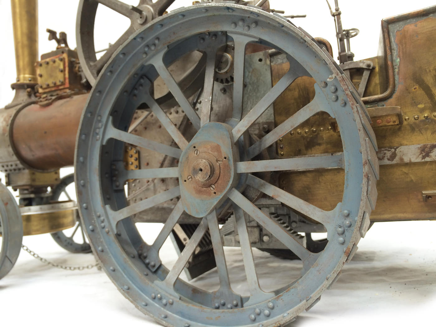 test scale Royal Chester Alchin traction engine live steam model for sale 07