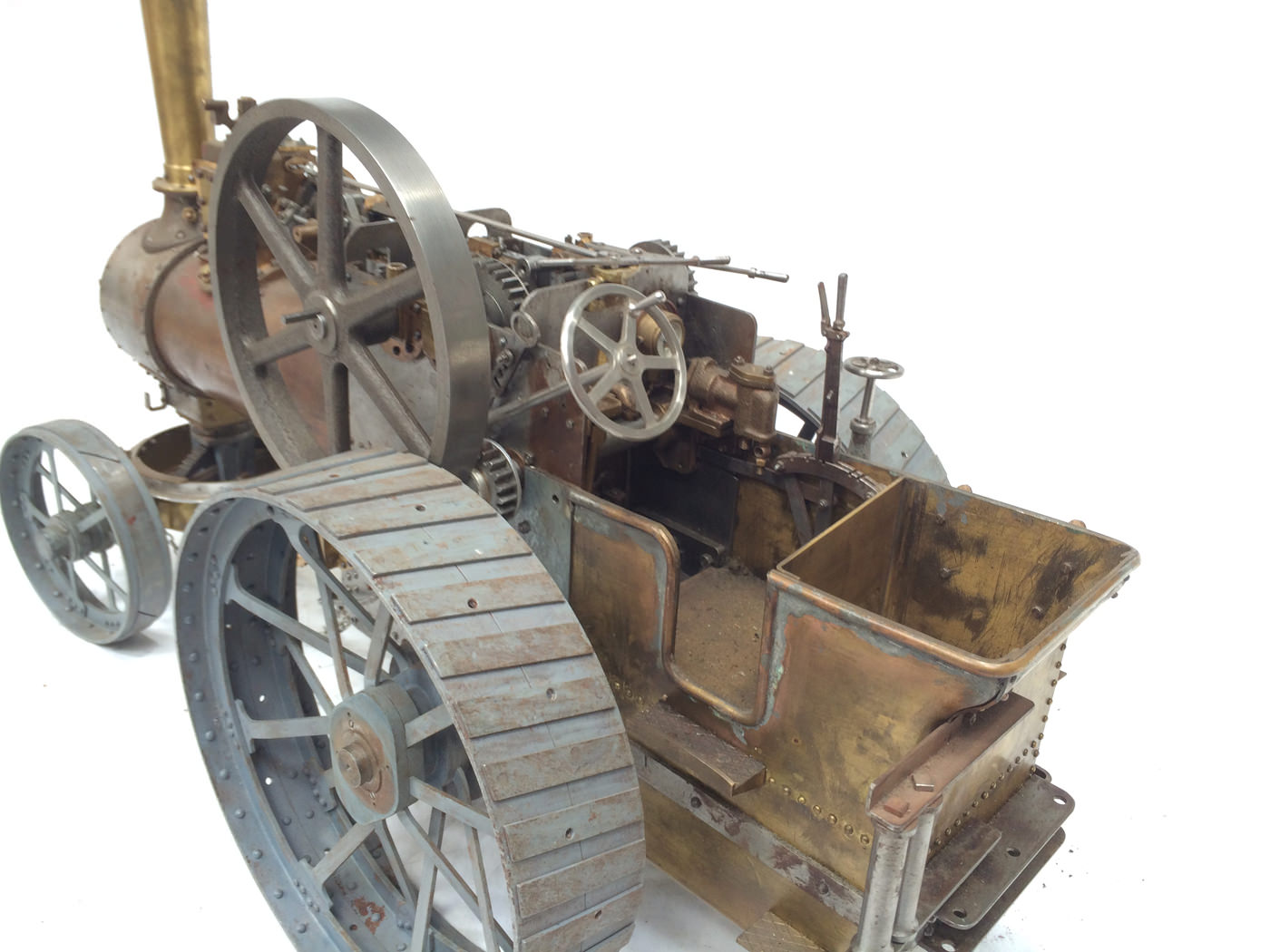 test scale Royal Chester Alchin traction engine live steam model for sale 08