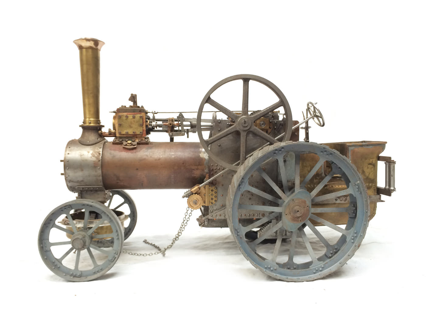 test scale Royal Chester Alchin traction engine live steam model for sale 09
