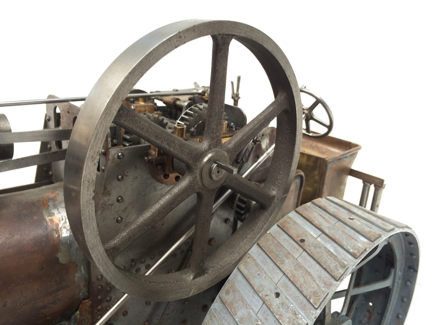 test scale Royal Chester Alchin traction engine live steam model for sale 11