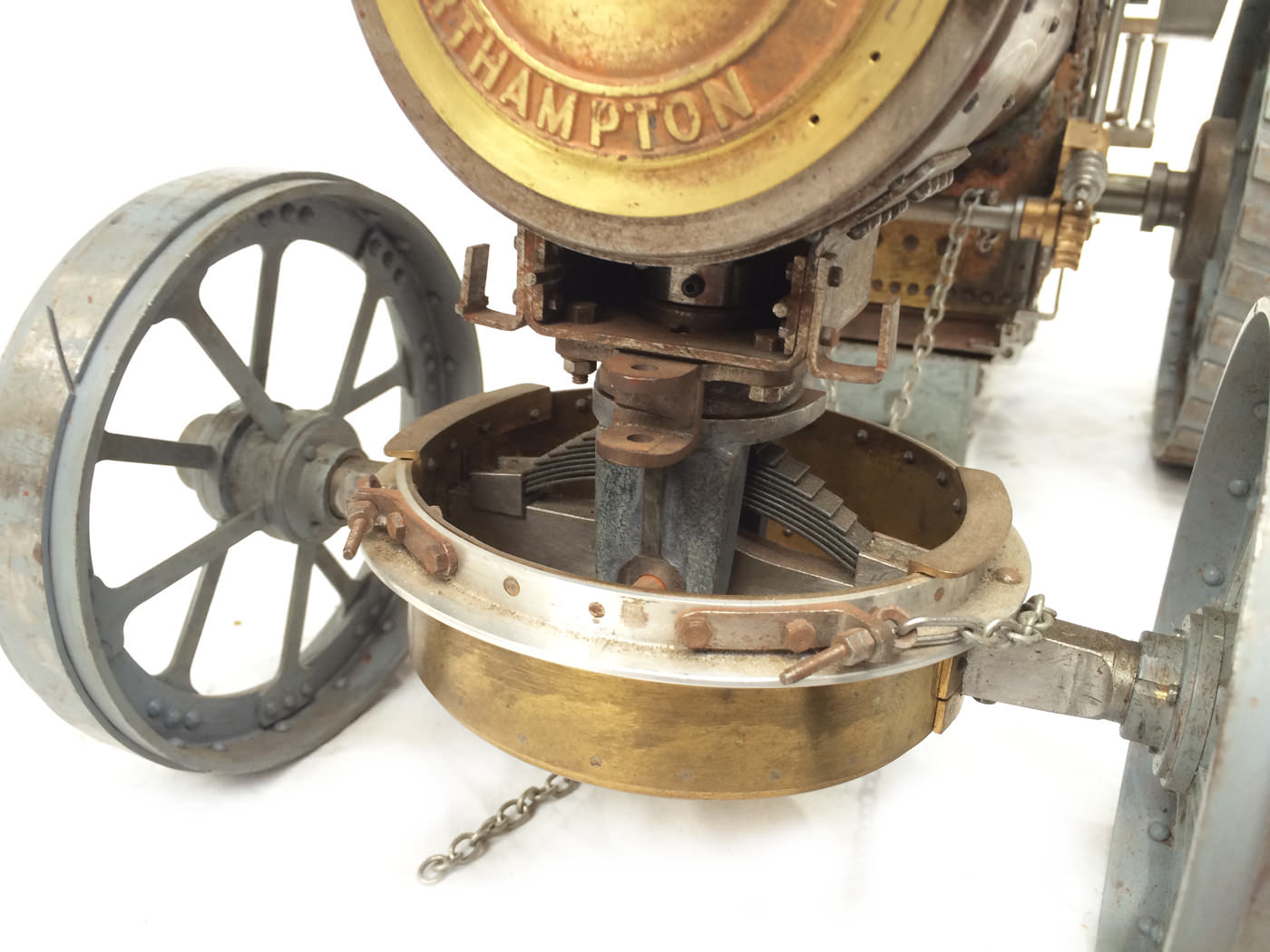 test scale Royal Chester Alchin traction engine live steam model for sale 13