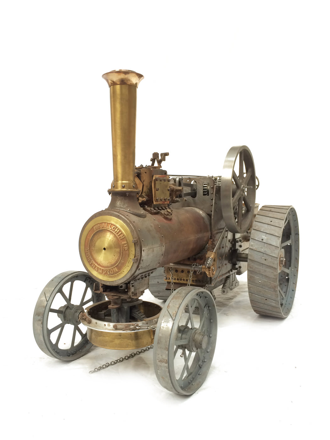 test scale Royal Chester Alchin traction engine live steam model for sale 14