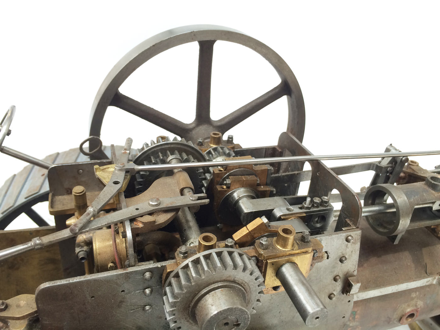 test scale Royal Chester Alchin traction engine live steam model for sale 19