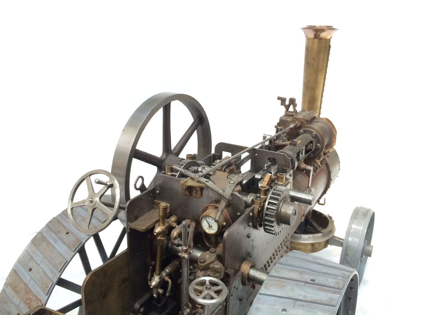 test scale Royal Chester Alchin traction engine live steam model for sale 20