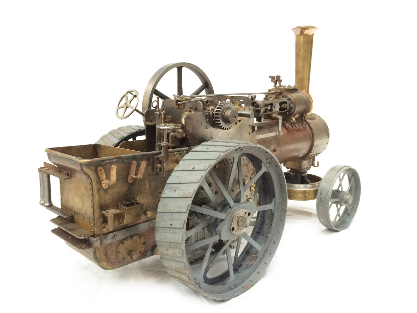 test scale Royal Chester Alchin traction engine live steam model for sale 21