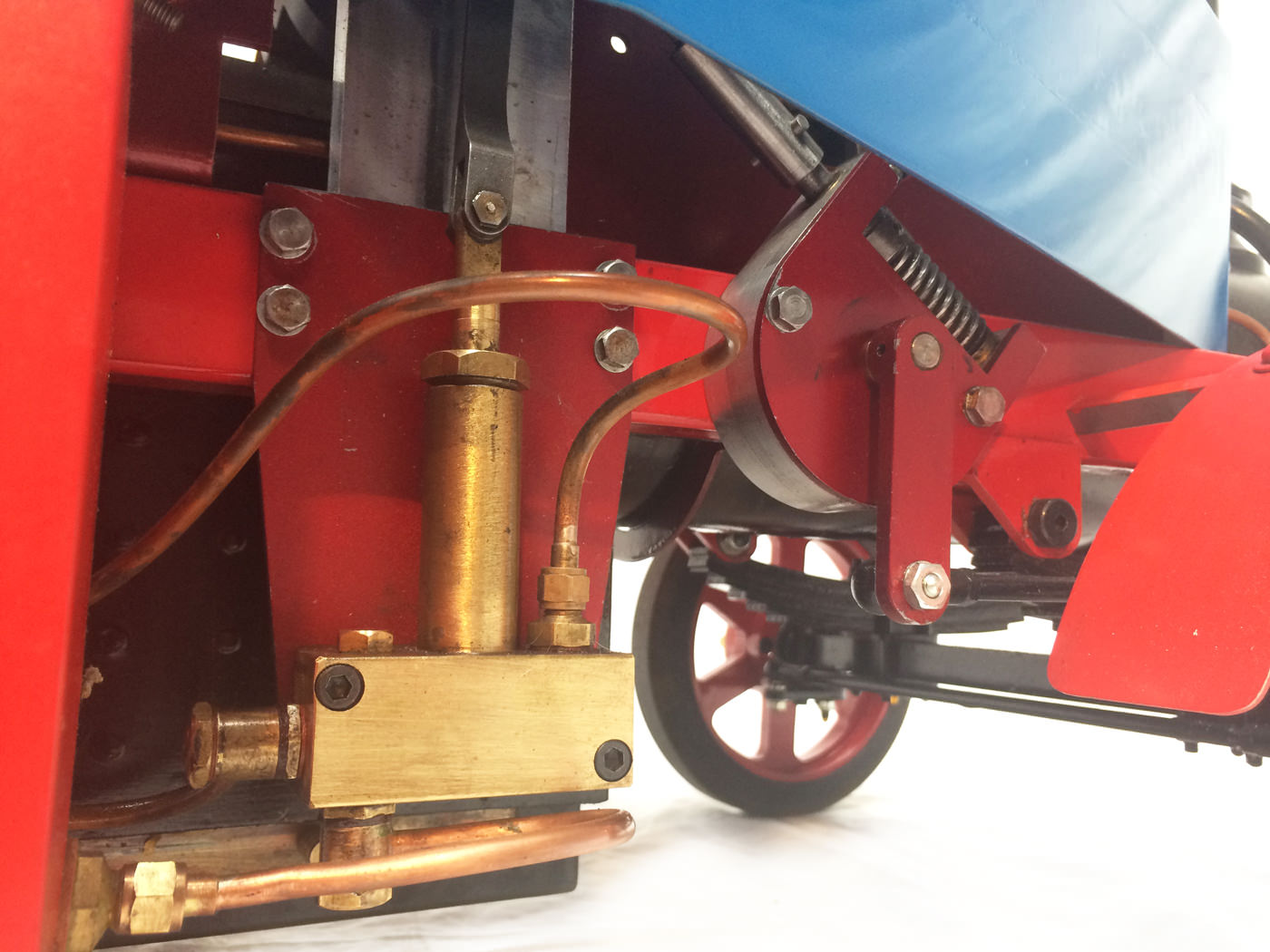test 2 scale foden steam lorry live steam model for sale 02