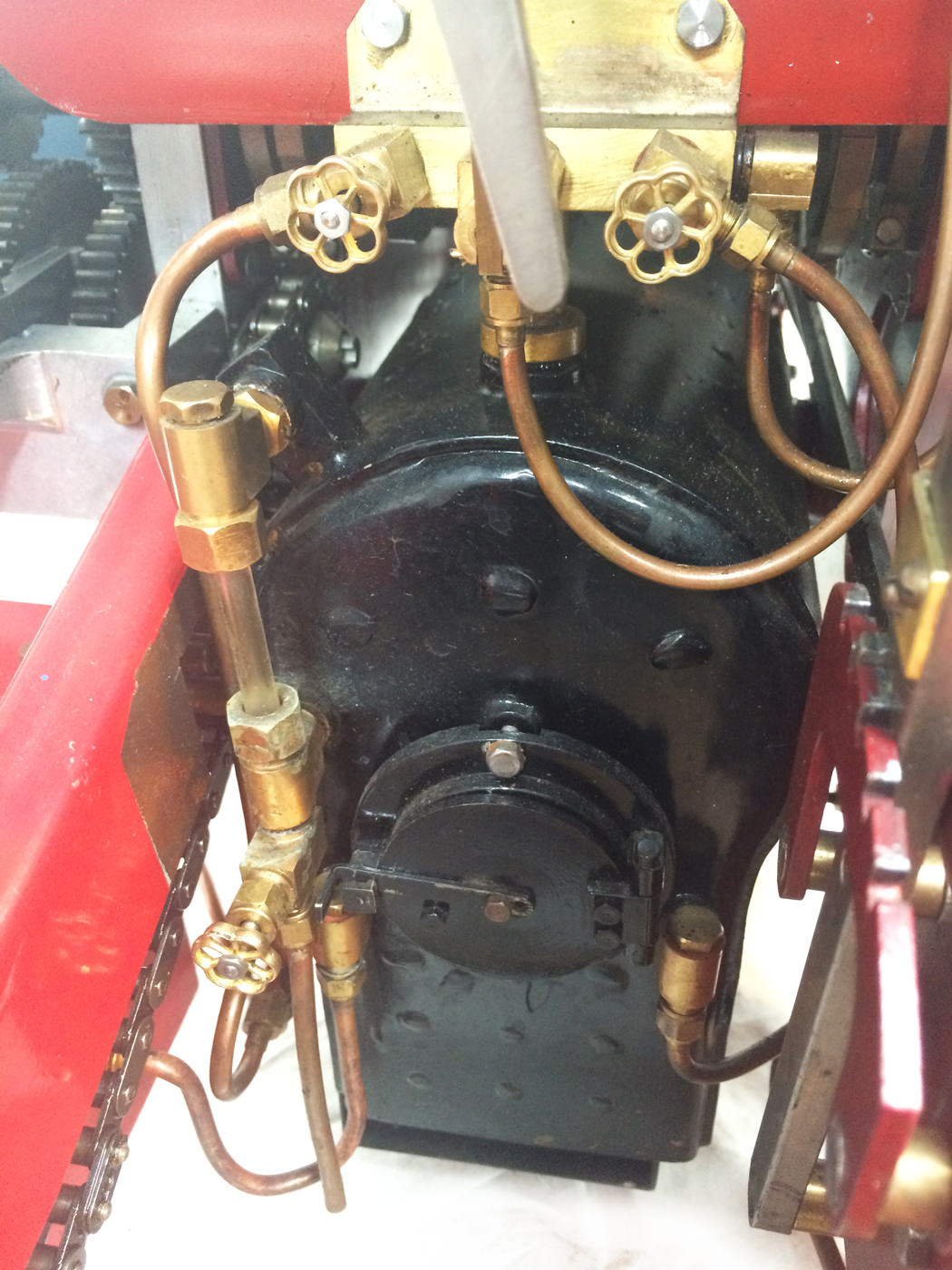 test 2 scale foden steam lorry live steam model for sale 06