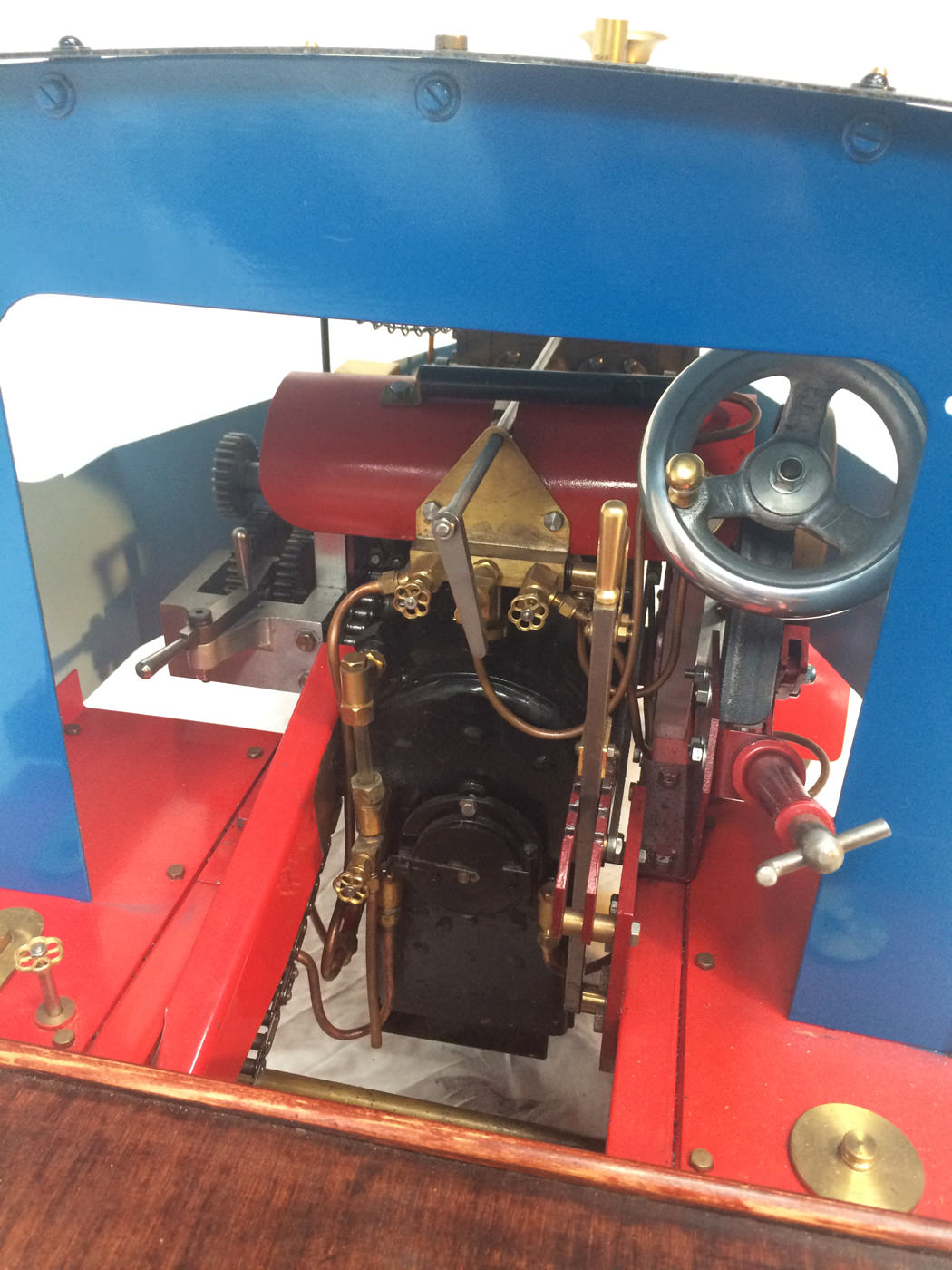 test 2 scale foden steam lorry live steam model for sale 07