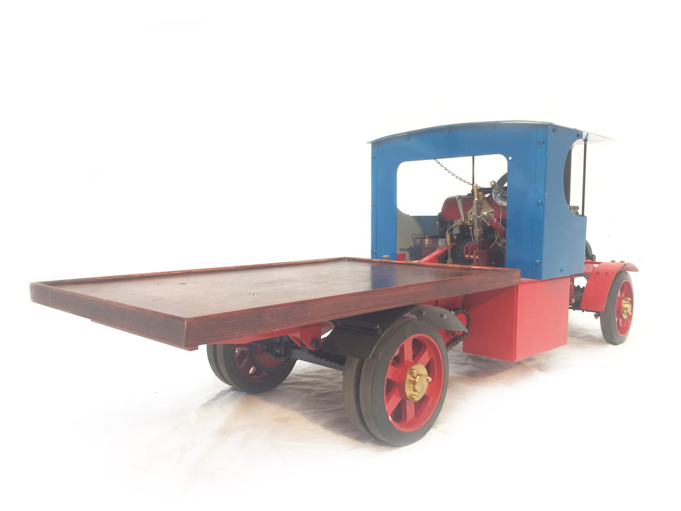 test 2 scale foden steam lorry live steam model for sale 10