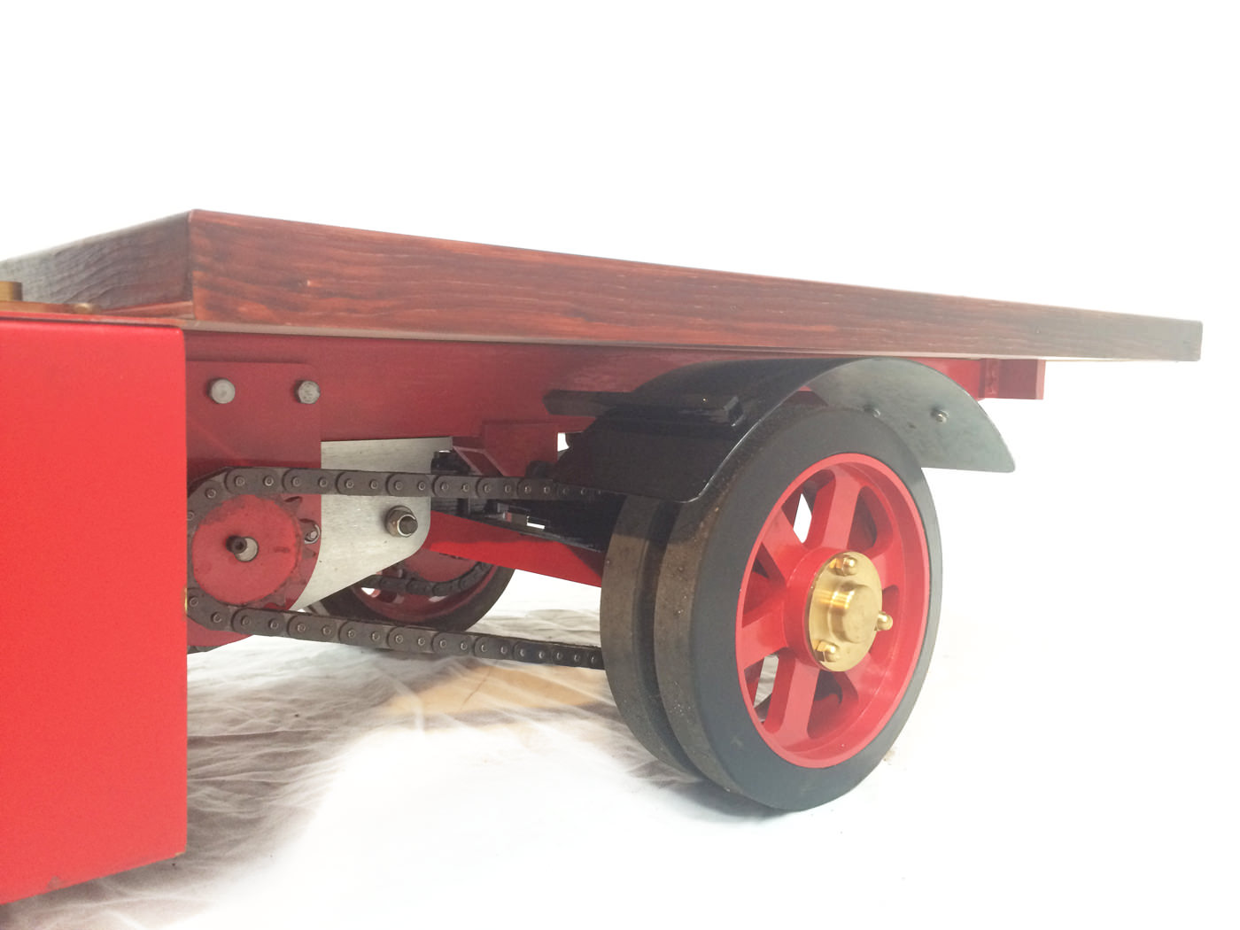 test 2 scale foden steam lorry live steam model for sale 13