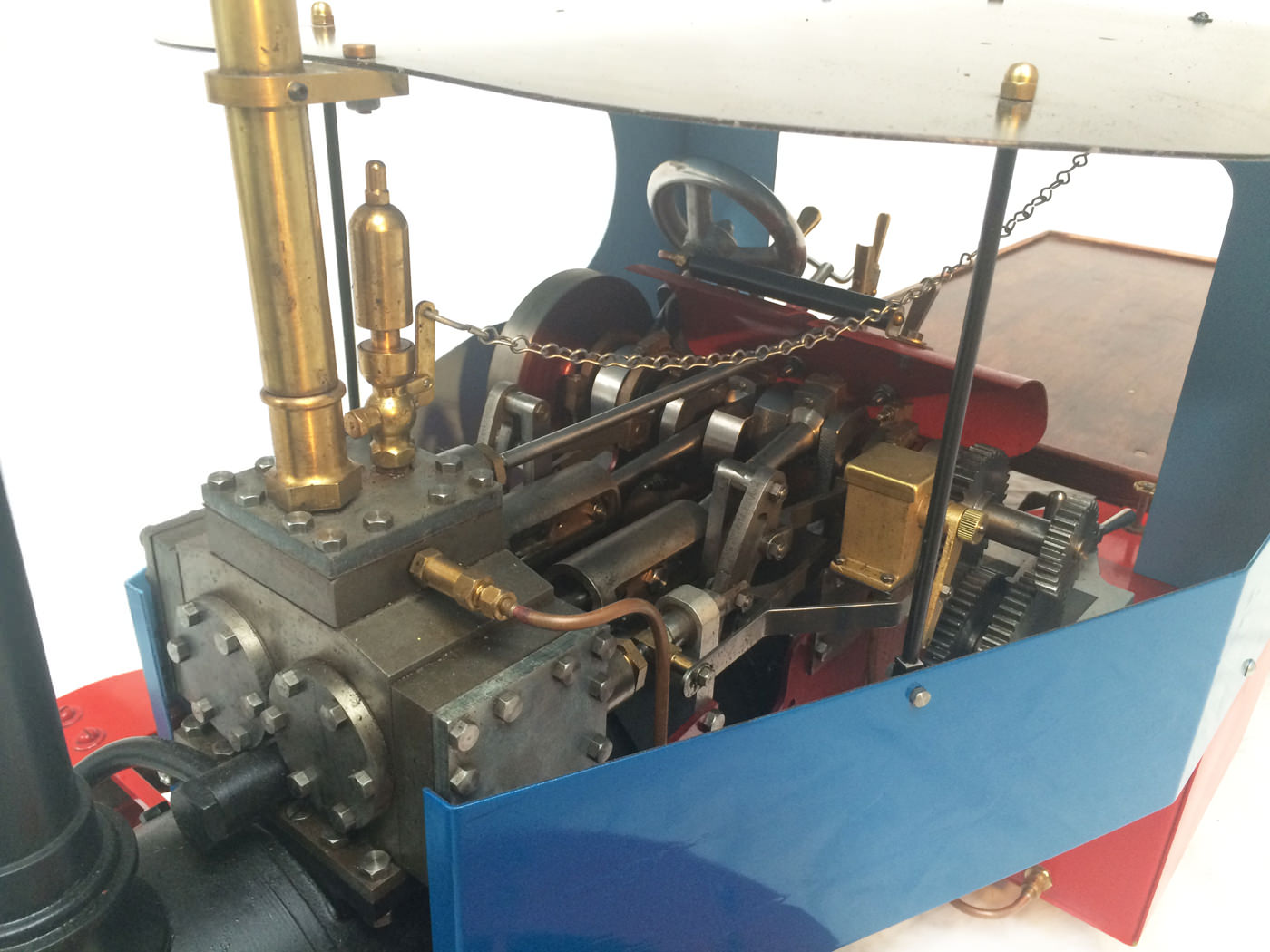 test 2 scale foden steam lorry live steam model for sale 19