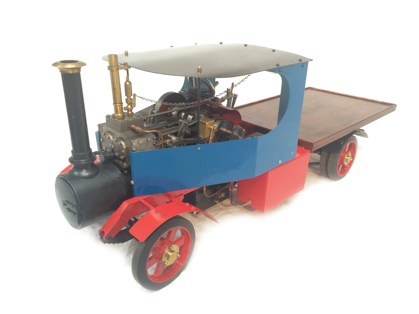test 2 scale foden steam lorry live steam model for sale 20