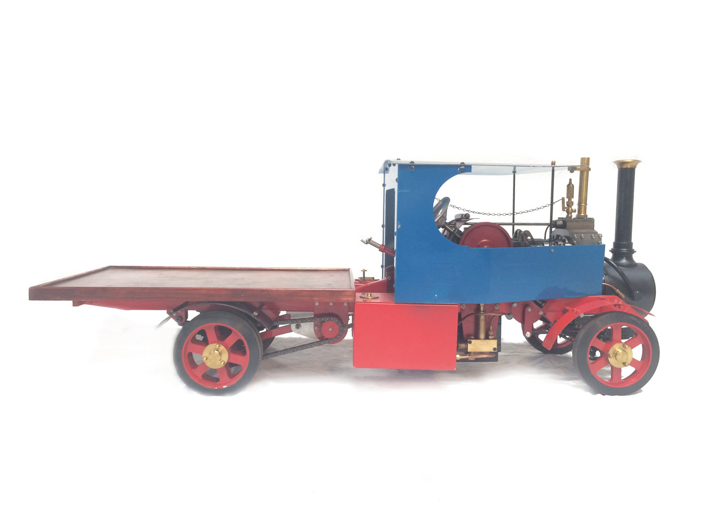 test 2 scale foden steam lorry live steam model for sale 26
