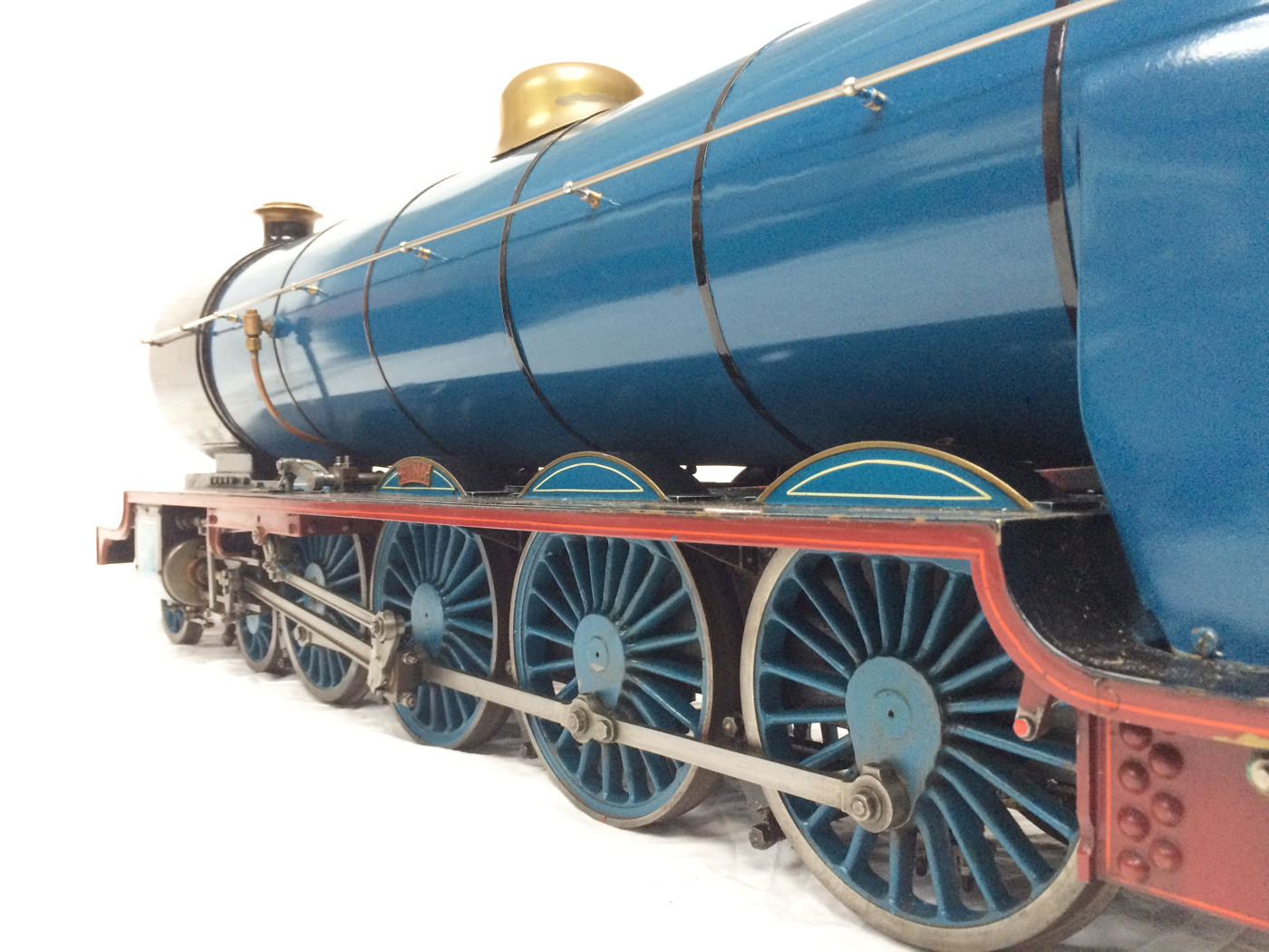 test 5 gauge maskelyne live steam locomotive for sale 01