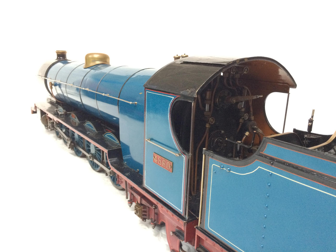 test 5 gauge maskelyne live steam locomotive for sale 04