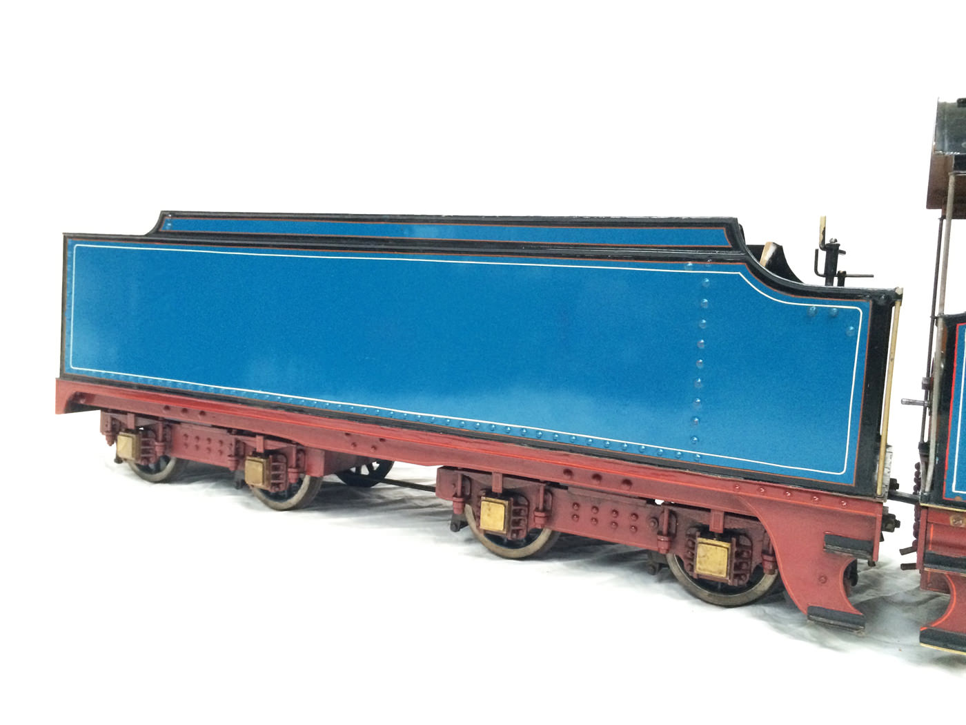 test 5 gauge maskelyne live steam locomotive for sale 06