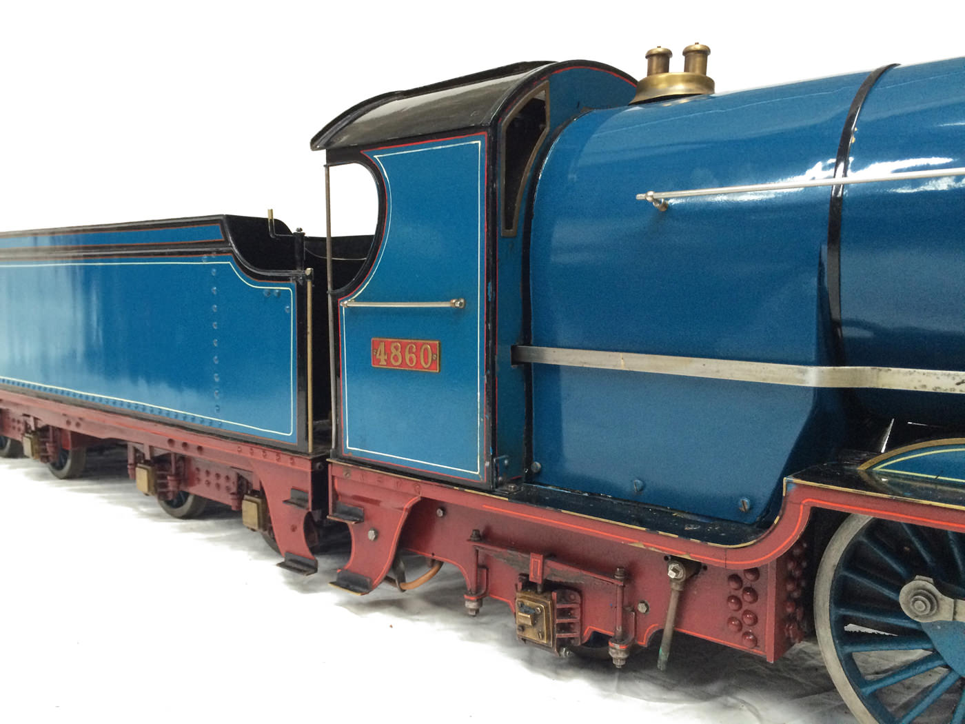 test 5 gauge maskelyne live steam locomotive for sale 07