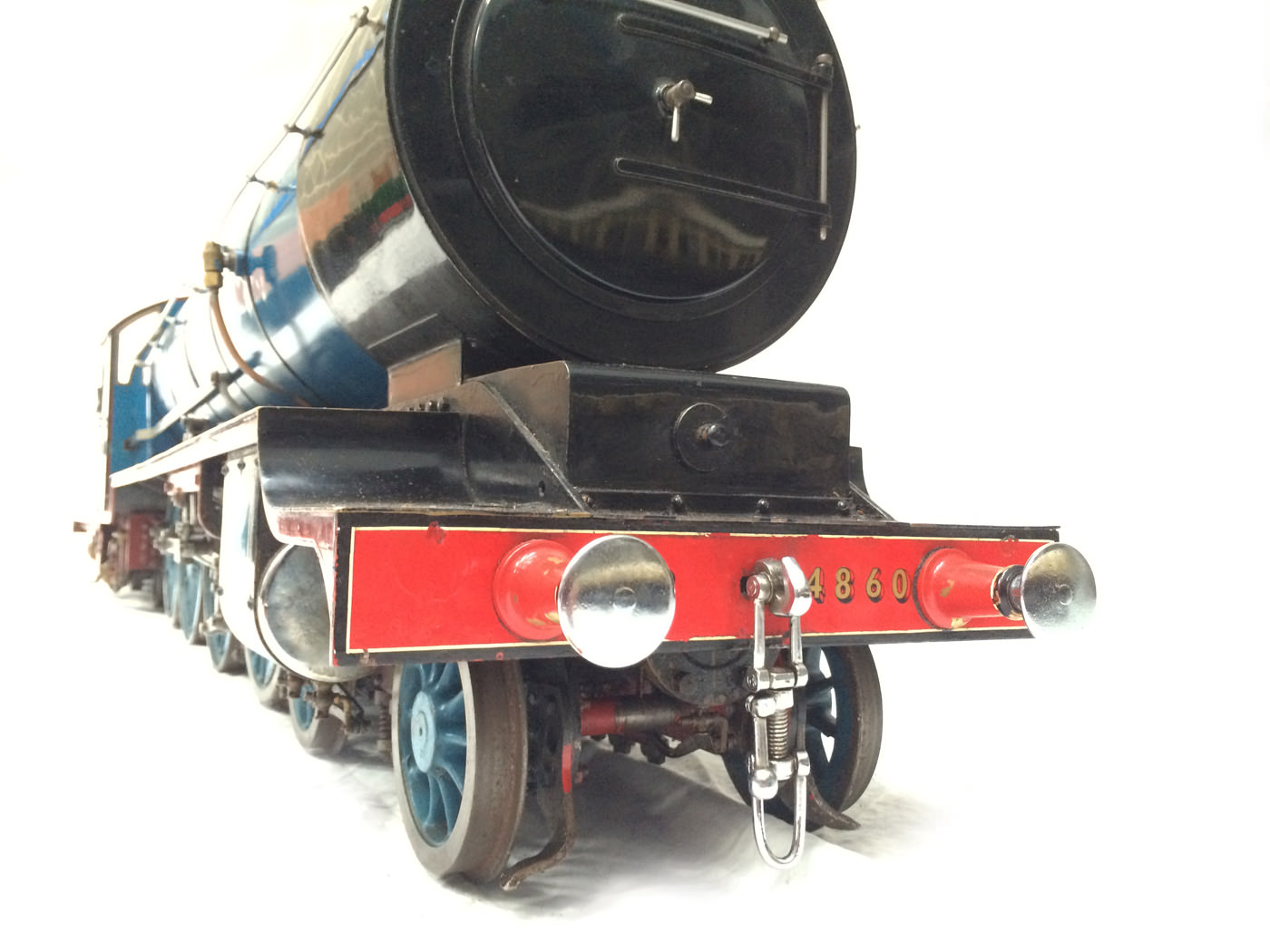 test 5 gauge maskelyne live steam locomotive for sale 09