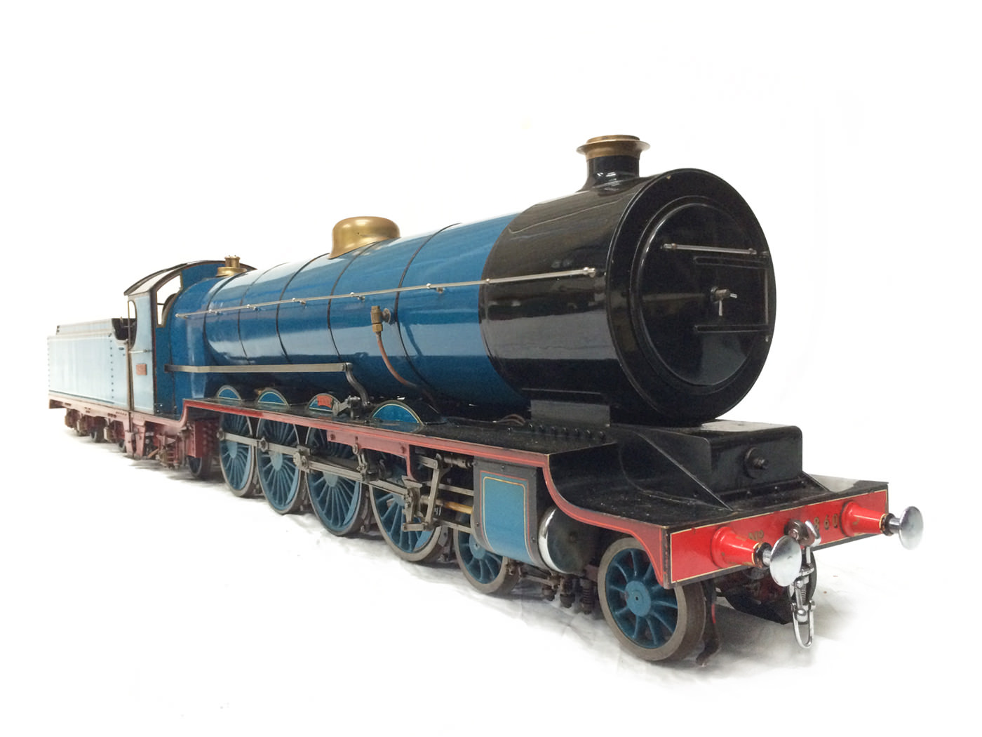 test 5 gauge maskelyne live steam locomotive for sale 11