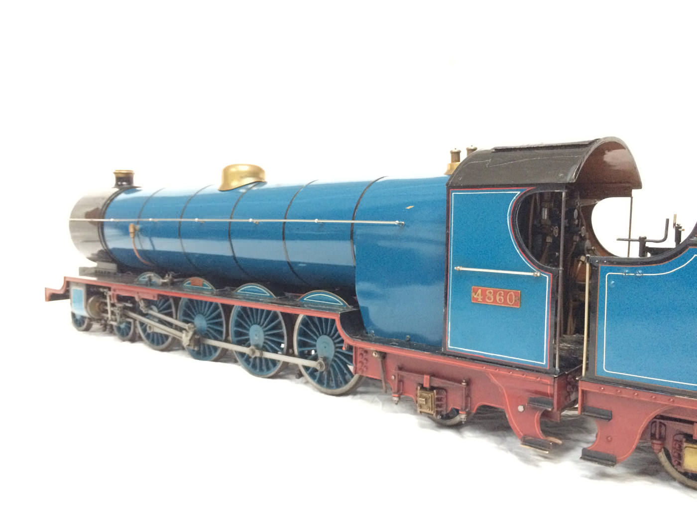 test 5 gauge maskelyne live steam locomotive for sale 14